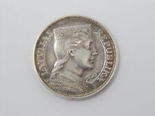 1929 5 Lati .835 silver coin