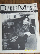 Dance Music Report magazine (DMR - USA) - 1987 ///