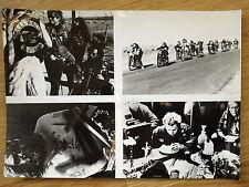 HELLS ANGELS '70  contact sheet #2  Harley Davidson Chopper Sonny Barger BIKER