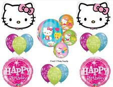 HELLO KITTY ORBZ HAPPY BIRTHDAY PARTY BALLOONS Decorations Supplies NEW!! cat