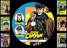 Steve Canyon Comics & Newspaper Strips On PC DVD Rom (CBR FORMAT)