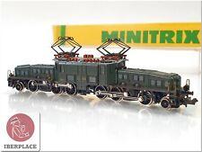 N 1:160 escala locomotive locomotora trenes Trix Minitrix 2926 Ce 6/8 SBB <