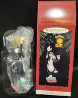 Hallmark Sylvester Tweety Looney Tunes Hang Togethers Christmas Ornament Set VTG