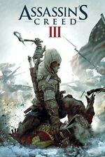 ASSASSIN'S CREED 3 III Cover POSTER 60x90cm assassins * Kenway Ratonhnhaké:ton