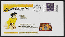 1950s Gilbert Atomic Energy Lab Ad Featured on Collector's Envelope *A533