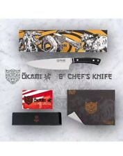 "OKAMI Chef's Knife 8"" Asgard Series Professional German Stainless Steel."