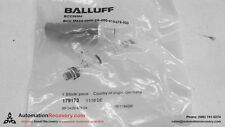 BALLUFF BCC06M4 4 POLE MALE RECEPTACLE CONNECTOR, NEW #107581