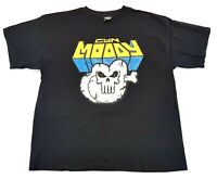 Vintage Moody Mutz The Punisher Kings County Tee Black Size XL Mens NYC Graffiti