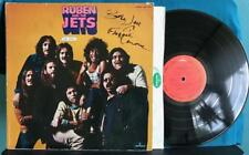 RUBEN AND THE JETS FOR REAL~1973 SIGNED MERCURY LP~FROGGIE CAMARENA~FRANK ZAPPA