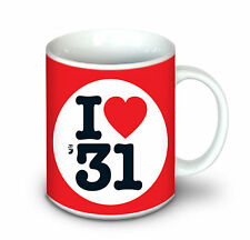 87th BIRTHDAY GIFT - I Love 1931 Coffee Mug For A Man or Woman