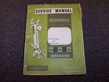 International Harvester T-800S Pay Mover Shop Service Repair Overhaul Manual