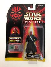 Star Wars Episode 1 Darth Maul Jedi Duel Figure w/ CommTech Chip r-1 FSTSHP