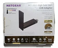 Netgear A6210 High Gain WiFi Adapter USB 3.0 COMPLETE IN BOX