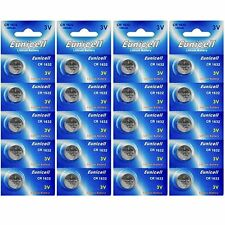 20 x EUNICELL CR1632 3V Lithium Batteries  BR1632  DL1632 Button Cell Battery