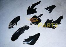 Dirt Pit Bike Fairing Body Shell Plastic WOLF MOTO WMX X70 W125 70cc 125cc Black