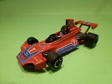 MATCHBOX K-41 BRABHAM BT44B  - MARTINI F1 No 7 RED 1:36 - VERY GOOD
