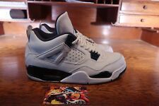 2014 Nike Air Jordan 4 IV Columbia White Legend Blue Shoe 314254-107 VNDS Size 8