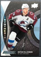 2018-19 Upper Deck Engrained Synthesis #S-29 Nathan MacKinnon Colorado Avalanche
