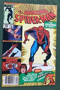 Amazing Spider-Man #259 Marvel Comics Copper Age Return of Original Suit