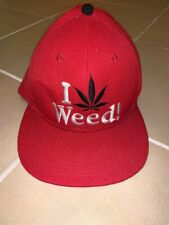 I Love Weed Red Cap - BRAND NEW - FREE SHIP WITHIN AUST