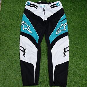 "ALPINESTARS A-Line Moto Cross Motorcycle Mens Trousers Size 38"""