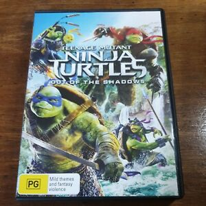Teenage Mutant Ninja Turtles Out of the Shadows DVD R4 Like New! FREE POST