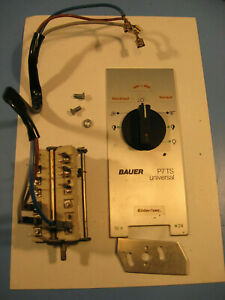 Bauer P7-P6 16 mm Filmprojektor Ersatzteil:Hauptschalter Front,Rele.Spare parts