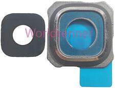 Lente Cámara S Cubierta Camera Lens Frame Original Glass Samsung Galaxy S6 Edge+