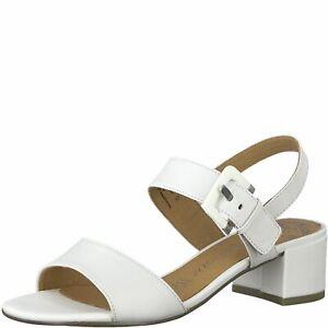 Marco Tozzi Damen 2-28215-24 Slingback Sandalette White Weiß