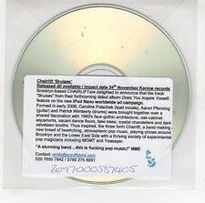 (GG714) Chairlift, Bruises - DJ CD
