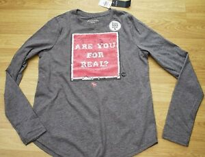 Abercrombie and fitch  long sleeved unicorn T- shirt age 15-16