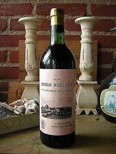 Vin wein wine wijn CHATEAU DUCRU RAVEZ *1954* BORDEAUX. 62 ANS.