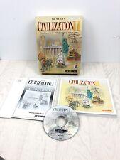 PC game - Sid Meier's Civilization II - Big Box edition - Microprose