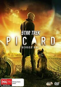 Star Trek PICARD Complete First Season 1 DVD BRAND NEW AND SEALED Region 4!