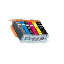 6 PK Printer Ink Set + chip fits Canon PGI-250 CLI-251 XL MG6320 iP8720 MG7520