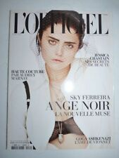 Magazine mode fashion L'OFFICIEL french #984 avril 2014 Sky Ferreira