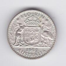 1962 Silver Florin Coin Australia  Q-335