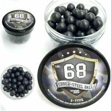 SSR Rubber Steel Balls Paintballs - 100 Pieces