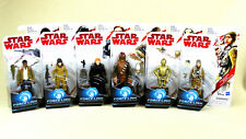 Star Wars Force Link Action Figure Set Of 6 Chewbacca Finn C-3PO Hux Rose Paige