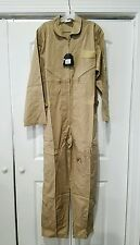 ROTHCO LARGE KHAKI Flight Suit Air Force Style Fighter Flight Coveralls 7508