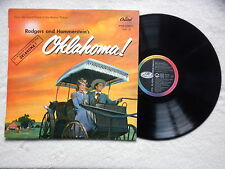 "LP RODGERS & HAMMERSTEIN ""Oklanhoma !"" CAPITOL W 595 FRANCE §"