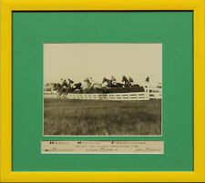 Woodbine Original c1925 B&W Framed 'Henrie Memorial Steeplechase'