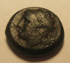 3rd Century BC Ancient Greek Apolo Ovol Bronze Coin