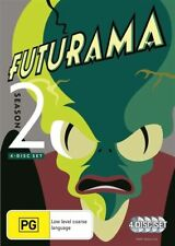 Futurama : Season 2 (DVD, 2013, 4-Disc Set)