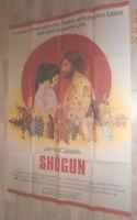 A0 Filmplakat   SHOGUN ,JAMES CLAVELLS, RICHARD CHAMBERLAIN,TOSHIRO MIFUNE