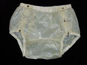 PVC-U-Like PVC Panties Underwear Unisex 3XL Roleplay Plastic Pants Knickers