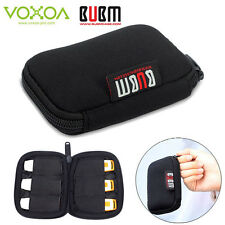 6 X USB Flash Drives BUBM Portable Carrying Organizer Case Storage Pouch Bag