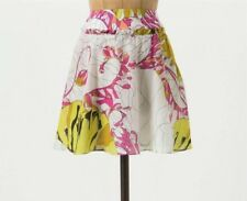 Leifnotes Skirt Mini Floral Anthropologie Size 10