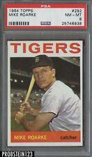 1964 Topps #292 Mike Roarke Detroit Tigers PSA 8 NM-MT