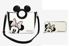 Disney X Loungefly Minnie Mouse Peekaboo Handbag & Wallet Set